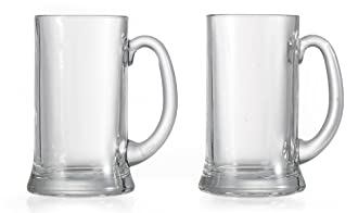 6 Bierseidel Glaskrüge Humpen Bierkrüge Bier Glas Krug Malles 0,5 l //-// Bormioli