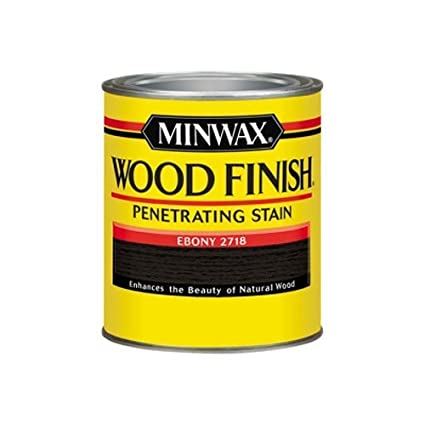 Exceptional Minwax 70013 1 Quart Wood Finish Interior Wood Stain, Ebony