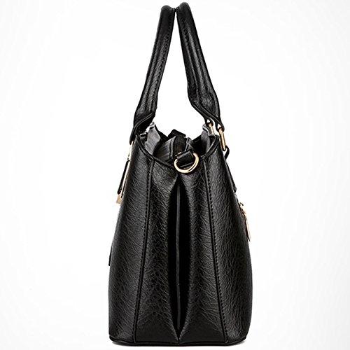 Tote à à sac Body à main main PU épaule Messenger Femmes cuir Cross en Blanc Bag Sac Sac main Lady pPnaOq