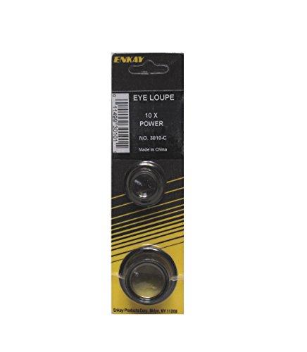 Enkay 3010-C  10X Eye Loupe, - Carded Magnifier
