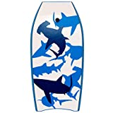 oldzon 41'' Lightweight Super Bodyboard Surfing w/Leash IXPE Deck EPS Core Boarding Ebook