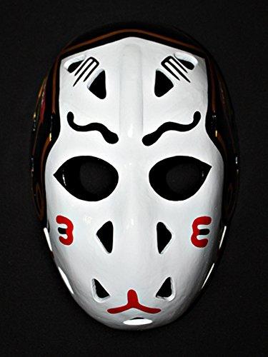 1:1 Custom Vintage Fiberglass Roller Ice Hockey Goalie Mask Helmet Murray Bannerman - Mask Goalie Vintage