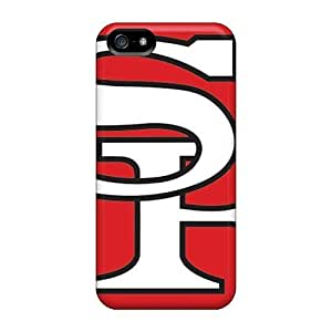 Awesome JfV976yTpV CaterolineWramight Defender Tpu Hard Cases Covers For Iphone 5/5s- San Francisco 49ers by heywan