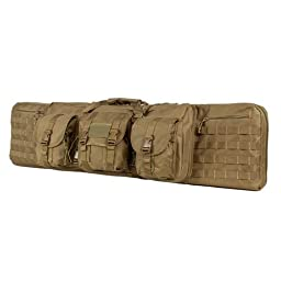 VISM by NcStar Deluxe Double Rifle Case, Tan, 46\