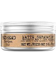 TIGI Bed Head B for Men Matte Separation Workable Wax, 3 Ounces