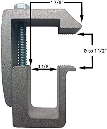 Tite-Lok TL1 Truck Cap Topper Mounting Clamp 4 Pack
