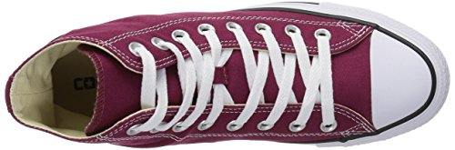 Taylor Color Women's Converse Chuck Star Seasonal Hi All Maroon YEq7qwA
