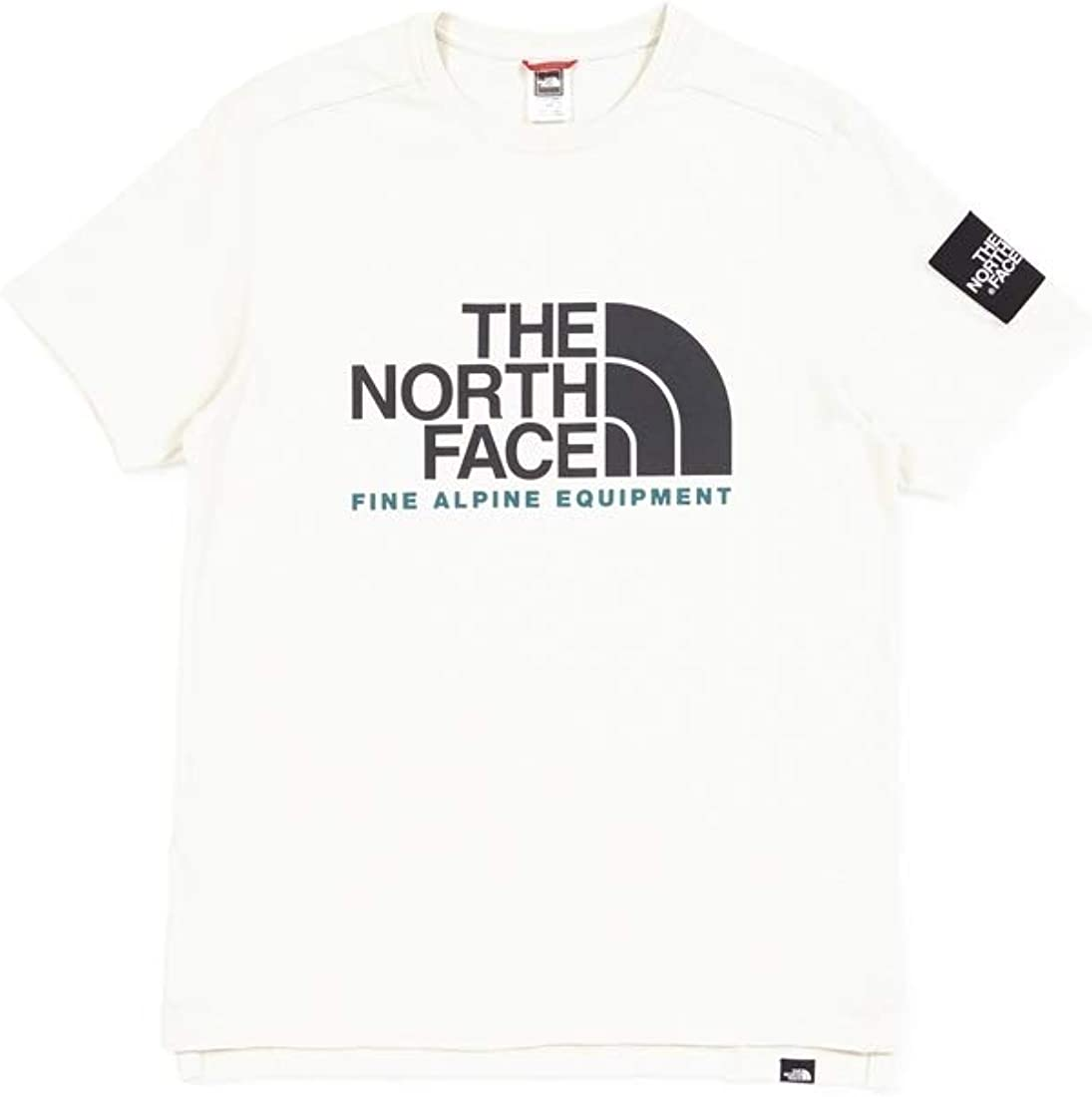THE NORTH FACE T Shirt Fine ALP Homme Blanc