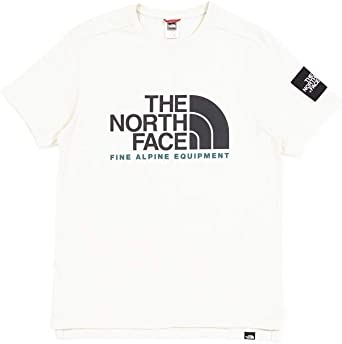 The North Face Camiseta Fine ALP Blanco Hombre: Amazon.es: Ropa y accesorios