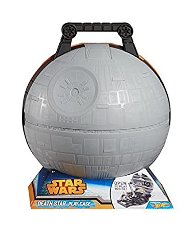 Hot Wheels Star Wars Death Star Portable Playset(Discontinued by manufacturer) CGN73