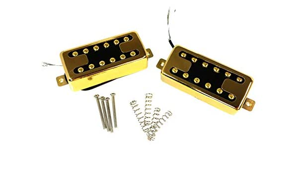"Gold /""Toaster Bucker/"" Pre-Wired Humbucker Guitar Pickup with Volume Control"