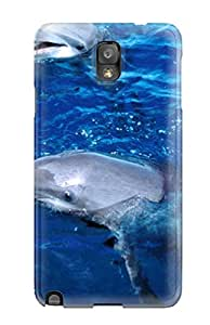 New Super Strong Dolphins Tpu Case Cover For Galaxy Note 3
