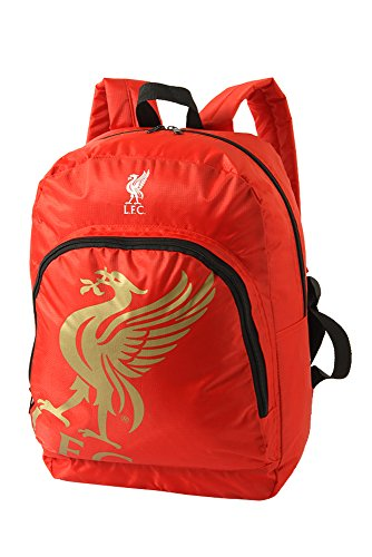 Liverpool F.C. Official Football Club Foil Print Backpack
