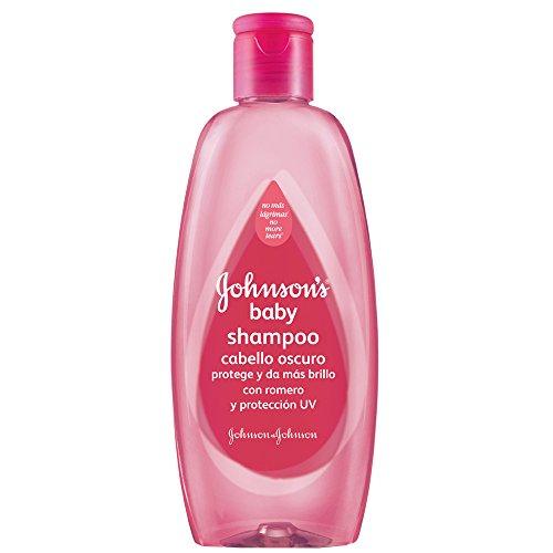 Johnson's Baby Shampoo de Romero para Cabello Oscuro, 400ml