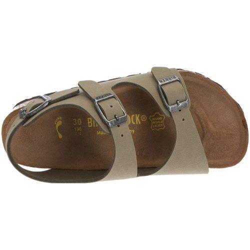 Birkenstock Roma Birko - Zapatos sin cordones Khaki Nubuk