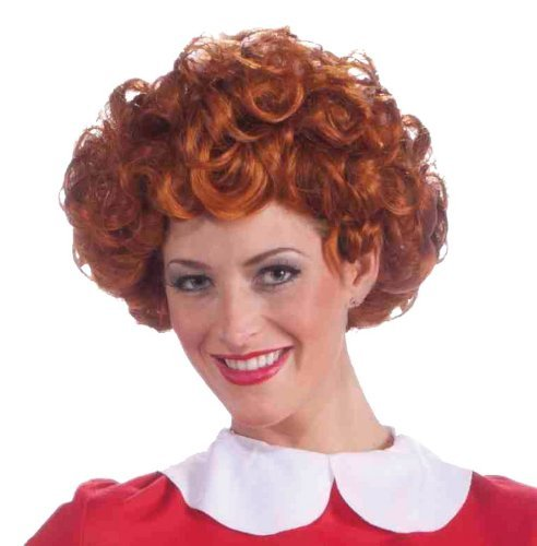 Adult Orphan Annie Costumes - Annie Wig Costume