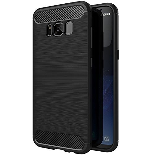 Plus Back Cover for Samsung Galaxy S8  TPU_Black