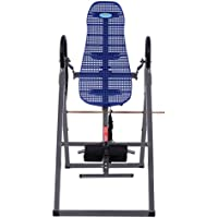 Foldable ABS Inversion Table Gravity Therapy Back Pain Fitness Reflexology Blue