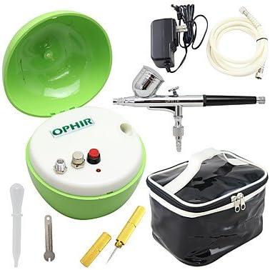 hjlhyl® Nuevo Compresor De Aire Verde Ophir de doble acción kit aerógrafo & bolsa aerógrafo para el cuerpo pastel de pintura decoración