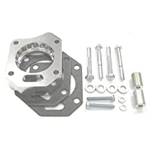 Street and Performance Electronics 91245 Helix Power Tower Plus Throttle Body Spacer 2003-2005 Honda Accord 2.4L K24A4 i-VTEC