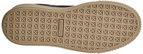 Puma Basket peacoat Basses Bleu peacoat Patent Platform Sneakers Femme g1g4q
