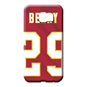 samsung galaxy s6 edge covers protection Premium colorful phone cover shell kansas city chiefs nfl football