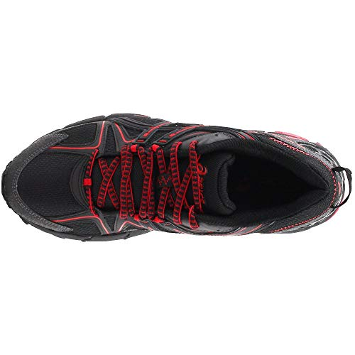 ASICS Mens Gel-Kahana 8 Running Shoe Black/Classic Red/Phantom 6 Medium US by ASICS (Image #5)