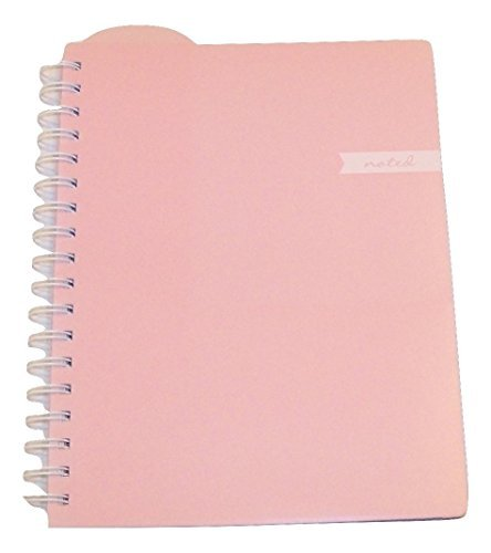 Studio C Carolina Pad College Ruled Executive Notebook, Noted (Soft Pink, 8 Inches x 9.75 Inches, 100 Sheets, 200 Pages) by Studio C