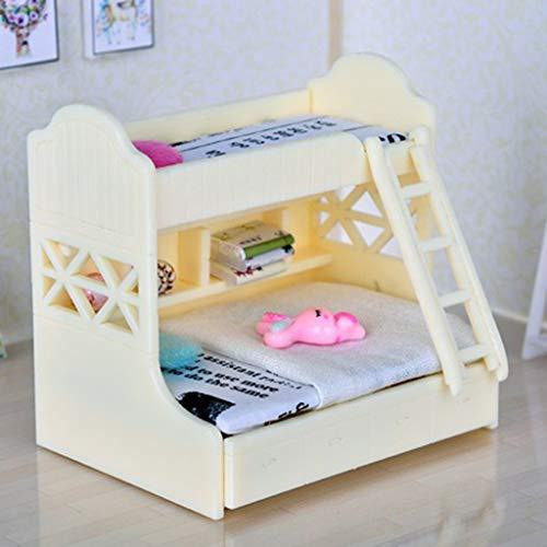 D DOLITY Modelo de Muebles Mini Accesorios de Dormitorios para Escala 1/12 Dollhouse - #1