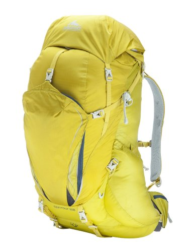 Gregory Mountain Products Contour 50 Backpack, Electric Yellow, Medium