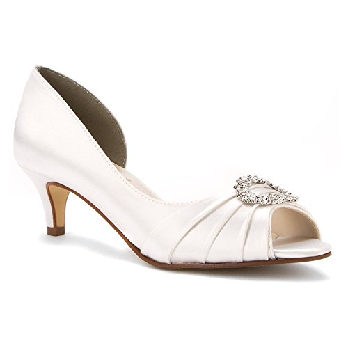 Touch Ups Women's Kennedy D'Orsay Pump, White, 8.5 W US