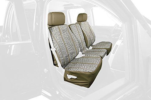 Saddleman Rear Custom Fit Seat Cover for Select Jeep Gran...