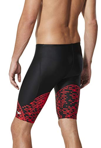 Speedo Mens Swimsuit Jammer ProLT Printed Team Colors