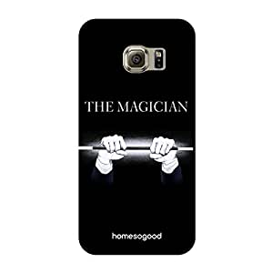 HomeSoGood Professional Magician Black 3D Mobile Case For Samsung S6 Edge ( Back Cover)