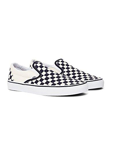 AUTHENTIC Checkerboard Erwachsene Vans Sneakers Unisex White Black 7qTwdp