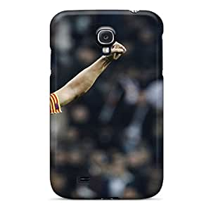 Hot Design Premium HYo412RVct Tpu Case Cover Galaxy S4 Protection Case(the Best Football Player Of Barcelona Carles Puyol)