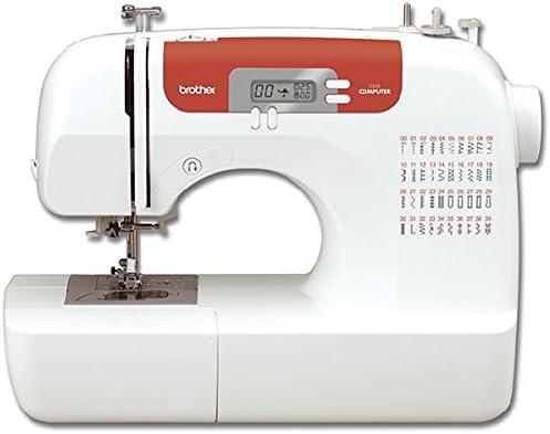 Brother Máquina de Coser electrónica, Blanco, L: Amazon.es: Hogar