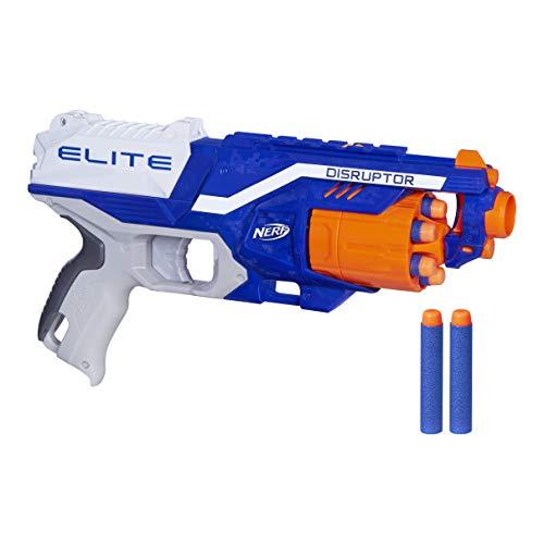 Lança Dardo Nerf Elite Disruptor, Nerf, Azul/branca