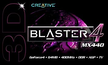 3D BLASTER 4 MX440 WINDOWS 7 DRIVER DOWNLOAD