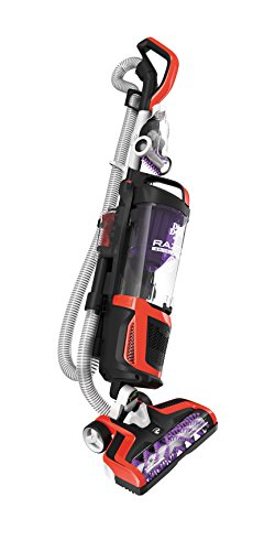 Dirt Devil Razor Pet Bagless Multi Floor Corded Upright Vacuum Cleaner with Swivel Steering, UD70355B, Red Dirt Devil Light Vacuums
