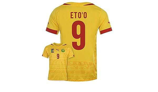4d98c4584d3 2014-15 Cameroon World Cup Away Shirt (Etoo 9)