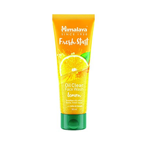 Himalaya Fresh Start Oil Clear Face Wash, Lemon, 100ml