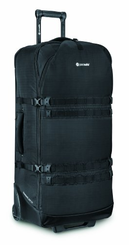 Pacsafe Toursafe EXP34 Anti-Theft Wheeled Gear Bag, Black by Pacsafe