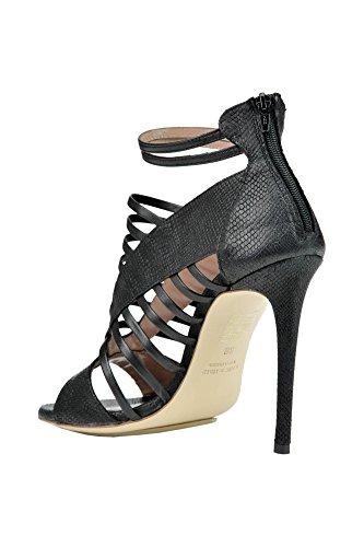 Ixos Ladies Mcglcat03154e Scarpe Con Tacco In Pelle Nera
