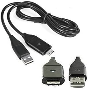 USB Computer Charger Data Cable Photo Transfer Lead for Samsung ES70 ES71 ES74