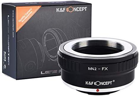 K/&F Concept Adattatore per Obiettivo M42-FX PRO