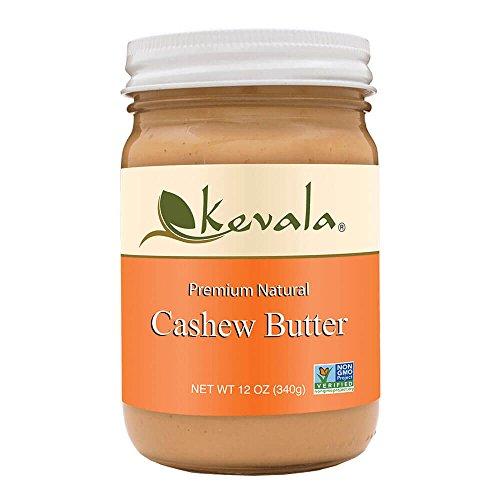 Cashew No Salt Butter - Kevala Cashew Butter, 12 Ounce