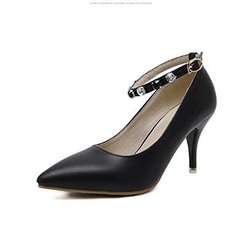 L@YC Frauen Schuhe Spitz High-Heeled Schuhe Hochzeit Schwarz / Pink / B¨¹ro & Beruf / Party und Party / Bekleidung Black