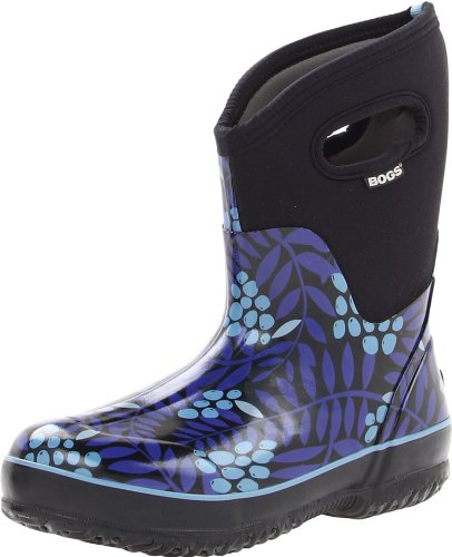 Paludi Womens Classic Winterberry Mid Winter Snow Boot Blu