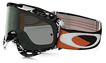 Oakley O-frame Mx Flight Series Falcons Men's Dirt Off-road Motorcycle Goggles Eyewear - Whitedark Grey One Size Fits All 0